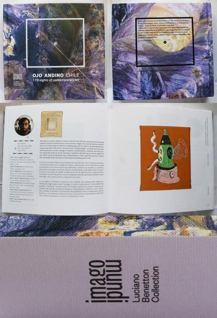"""CATALOGO """"Ojo Andino Chile 2015"""". Imago Mundi, Luciano Benetton Collection Fondazione Giorgio Cini. Agosto. Venecia. Italia."""